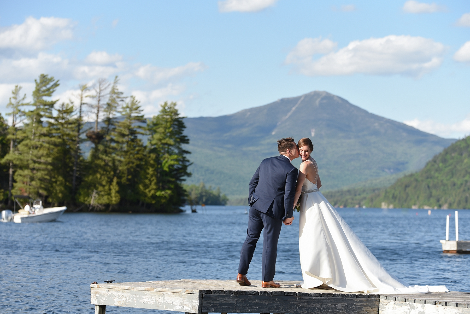 Elegant Adirondack Whiteface Lodge Summer Wedding